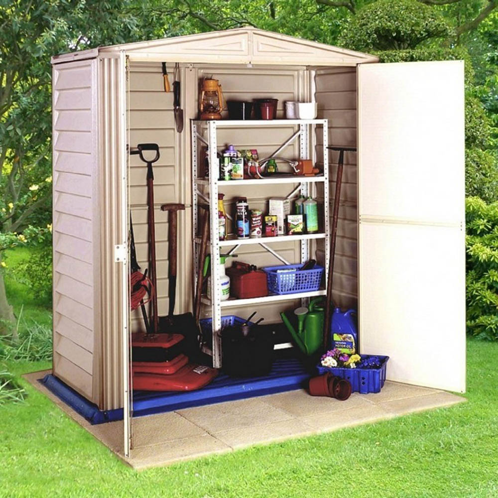 Organise the shed for easy access