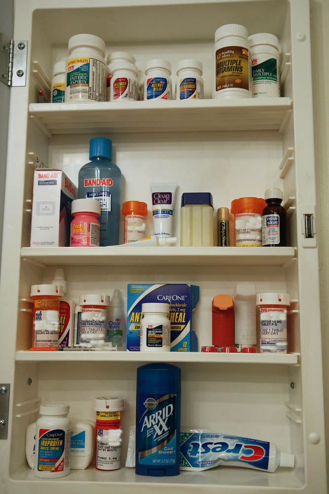 Keep medication organised