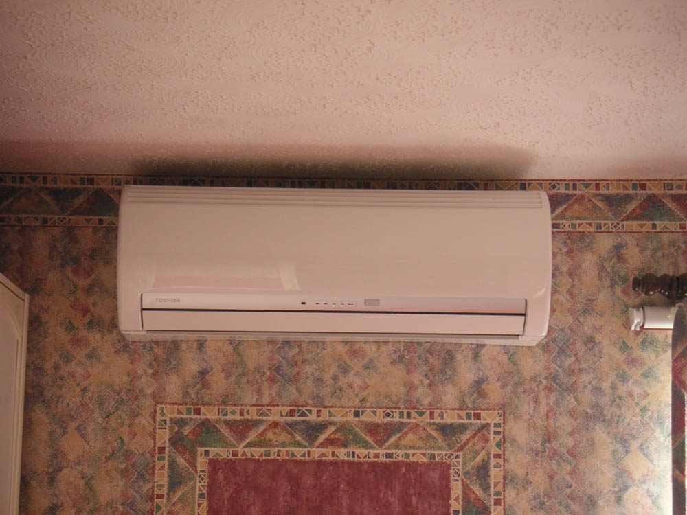 Install a reverse cycle air conditioner